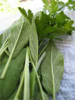Parsley and sage