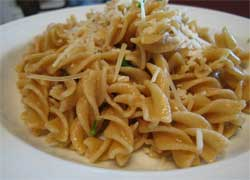Pasta with Sage and Parsley Butter