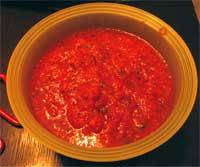 Experimental salsa