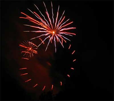 Also fireworks