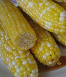 Maple-Lime Glazed Sweet Corn