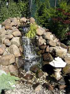 The pondless waterfall