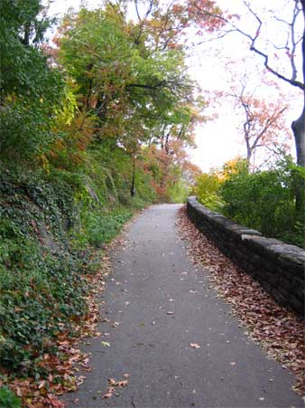 Pathway, Fort Tryon Park